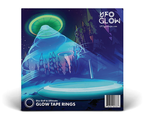 UFO Glow sticker pack