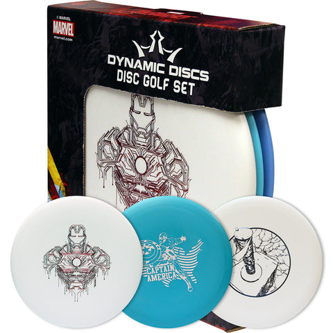 Dynamic Marvel Prime Disc Golf Set (3 Discs)