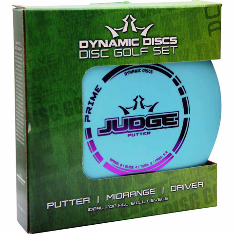 Dynamic Disc Golf Set (3 Discs)