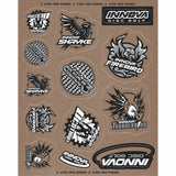 Innova Sticker Sheet 2019