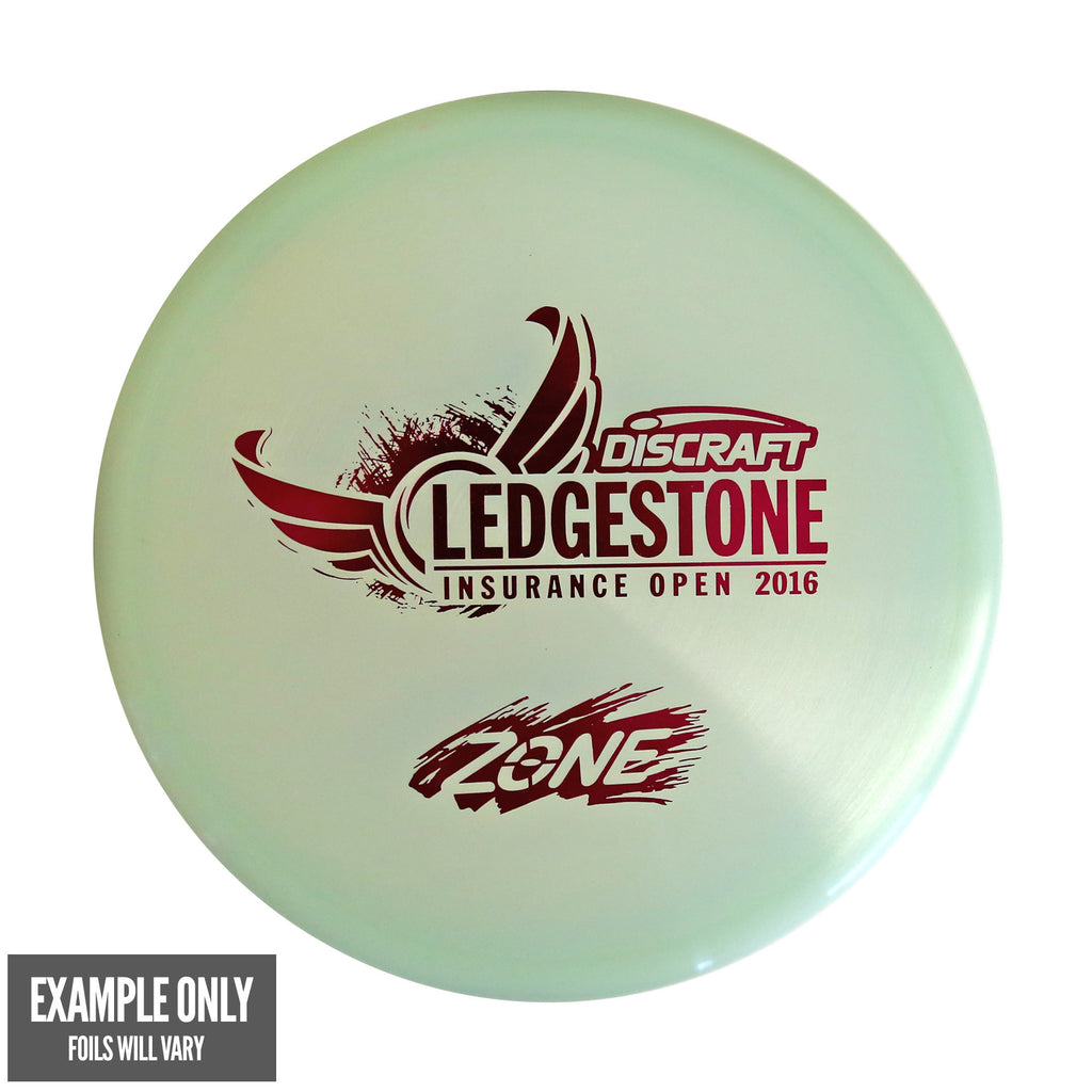 Discraft Zone Z Glo - Ledgestone Insurance Open 2016