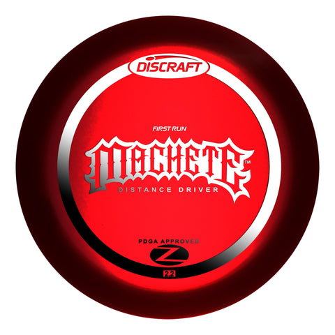 Discraft Machete Z - First Run
