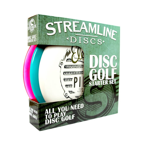 Streamline Disc Golf Starter Set (3 Discs)