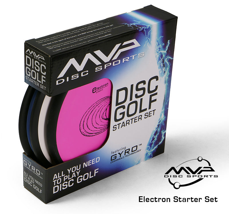 MVP Electron Disc Golf Starter Set (3 Discs)
