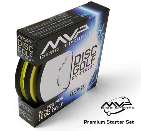 MVP Premium Disc Golf Starter Set (3 Discs)