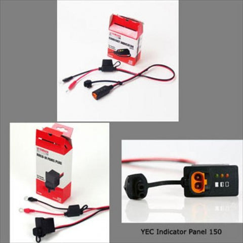 YEC Battery Charger Builtin Panel Plug