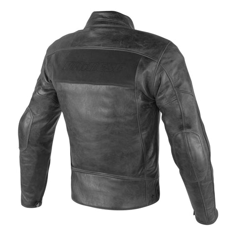 STRIPES D1 LEATHER JACKET