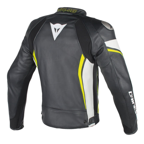 VR46 D2 LEATHER JACKET