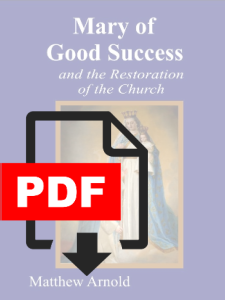 Mary of Good Success Booklet (PDF)