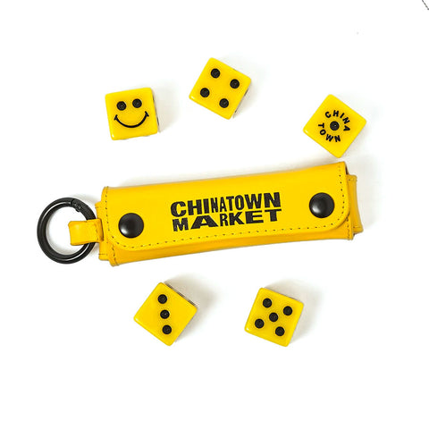 Chinatown Market Smiley 5 Dice Set (With Case)