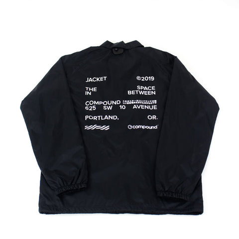 "Compound ""The Space Between"" Coach Jacket"