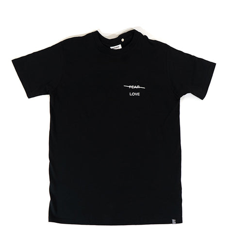 Akomplice Love Over Fear Embroidered SS Tee