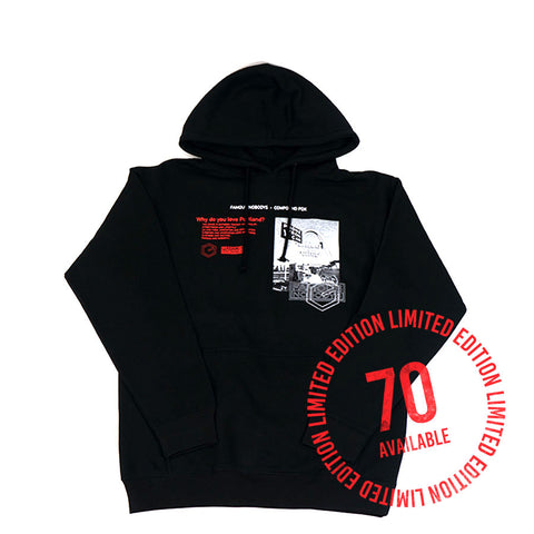 Compound X Famous Nobodys Center Hoodie