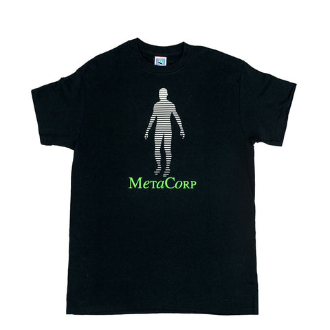 Metacorp - Black Vinyl Tee