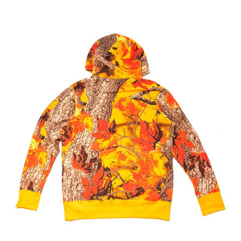 Raised By Wolves Maple Moss Camo Hooded Sweater