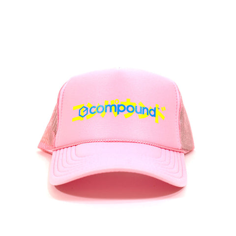 Compound Gallery Katakana Print Trucker Hat
