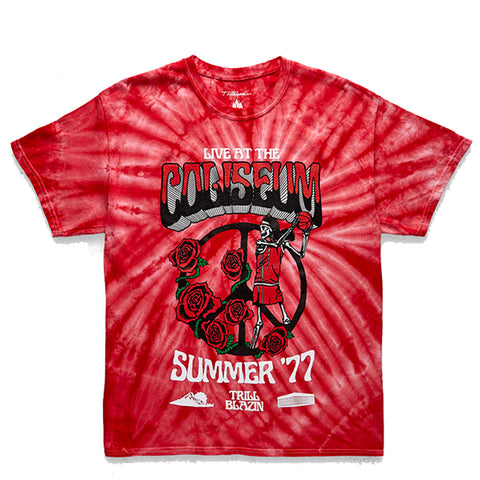 Trillblazin Rose City Tie Dye SS T-Shirt