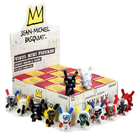 Kid Robot Basquiat Dunny Series 2