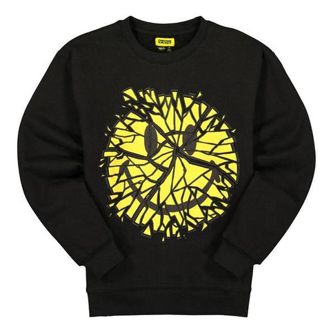 Chinatown Market Smiley Glass Crewneck