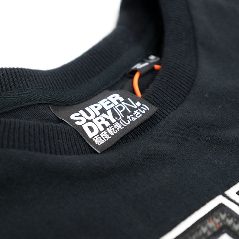 SuperDry Crafted Casuals Applique S/S Tee