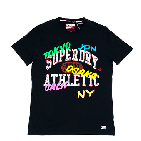 SuperDry Varsity Athletic Mid Tee