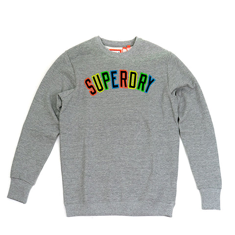 @ SuperDry New House Rules Applique Crew
