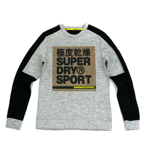 SuperDry Gymtech Colourblock Crew