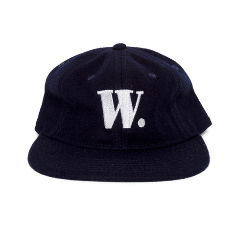Skim Milk Whole Navy Wool Cap