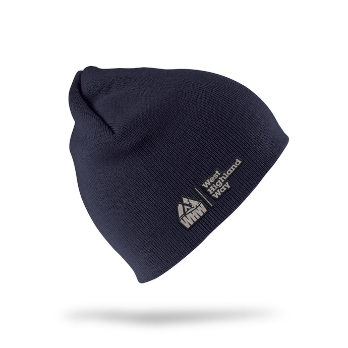 West Highland Way Embroidered Knit Beanie