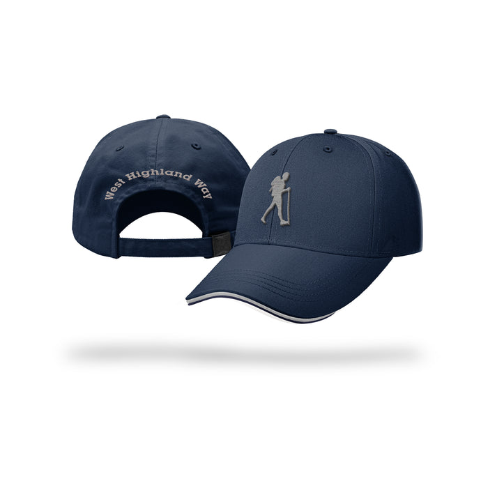 West Highland Way Walker Baseball Cap (Navy)
