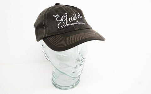 Guild Embroidered Logo Cap - Brown