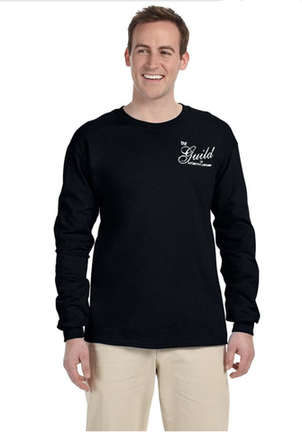 Guild Embroidered Logo Gildan cotton Long Sleeve T-Shirt