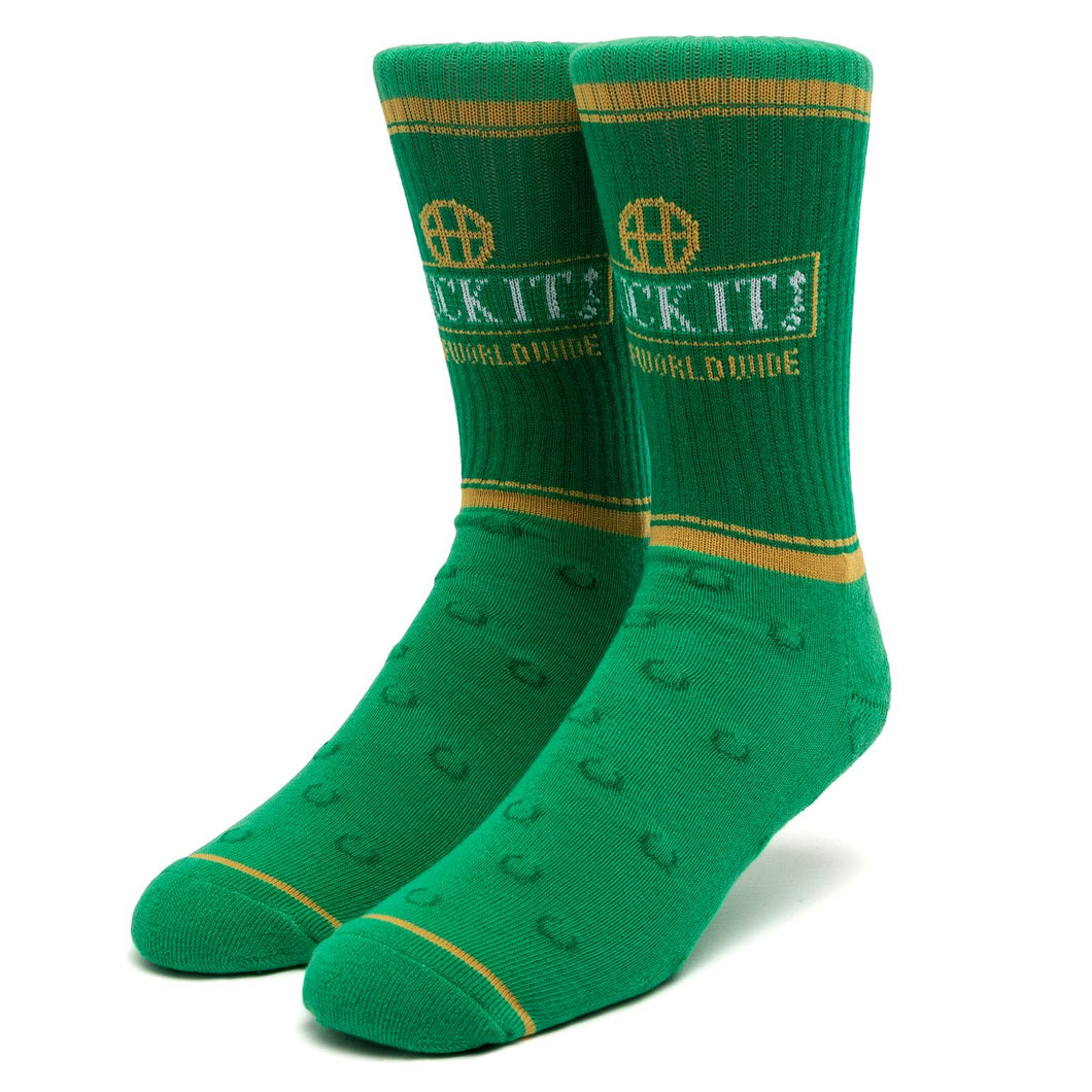 HUF Brown Bag Socks - green
