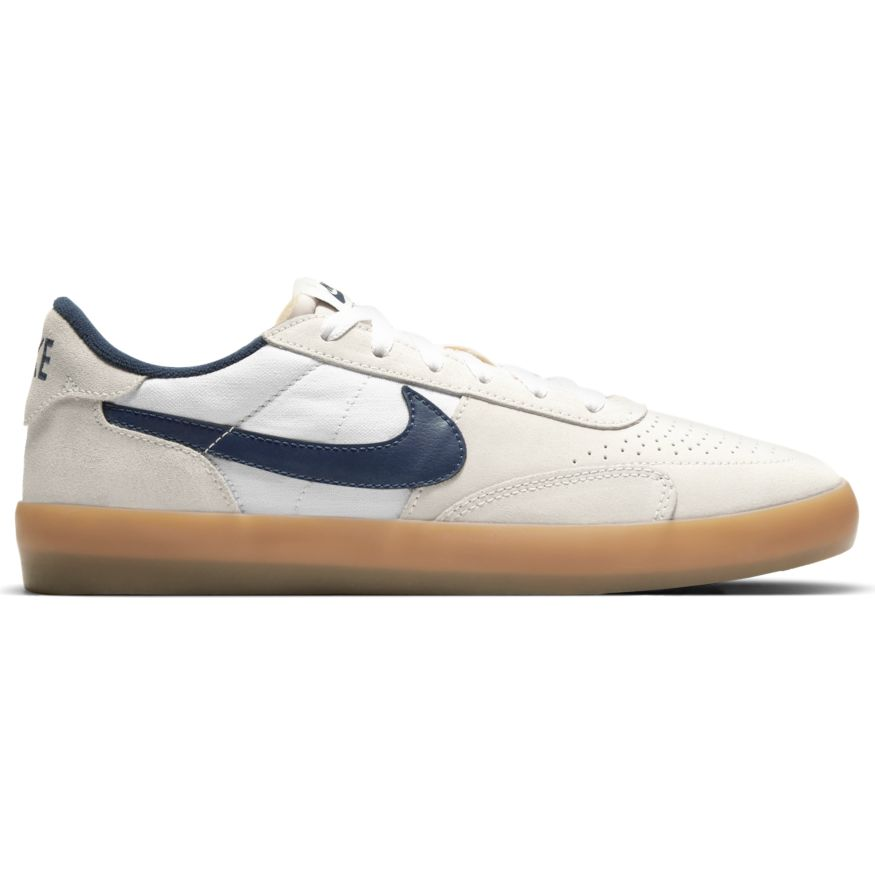 Nike SB Heritage Vulc - SUMMIT WHITE/NAVY-WHITE-GUM LIGHT BROWN 102