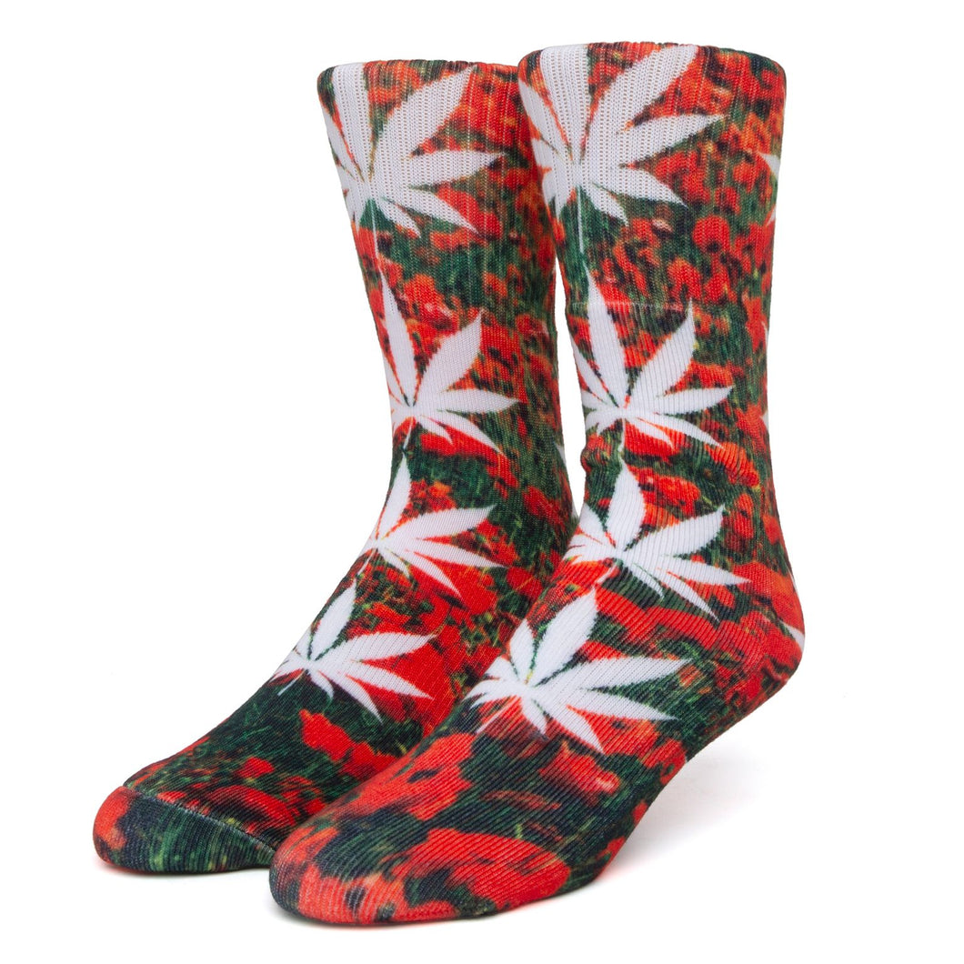 HUF Digital Plantlife Socks - poppy
