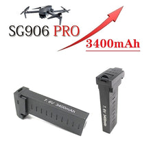 Load image into Gallery viewer, Original battery for SG906 Pro SG906PRO x7pro GPS RC Drone battery 7.6V 3400MAH Lipo battery accessories 5G Wifi PFV Drone 1Pcs