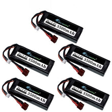 Load image into Gallery viewer, Original Wltoys 144001 2s 7.4 V 3500mAh Lipo battery upgraded rechargable for Wltoys 1/14 144001 RC car boat Lipo battery 1-5PCS
