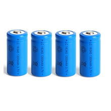 Load image into Gallery viewer, 1300mAh 3.7V Li-ion Rechargeable 16340 Batteries CR123A Battery For LED Flashlight Travel Wall Charger For 16340 CR123A Battery