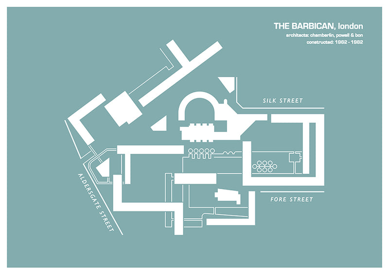 Barbican Estate - print