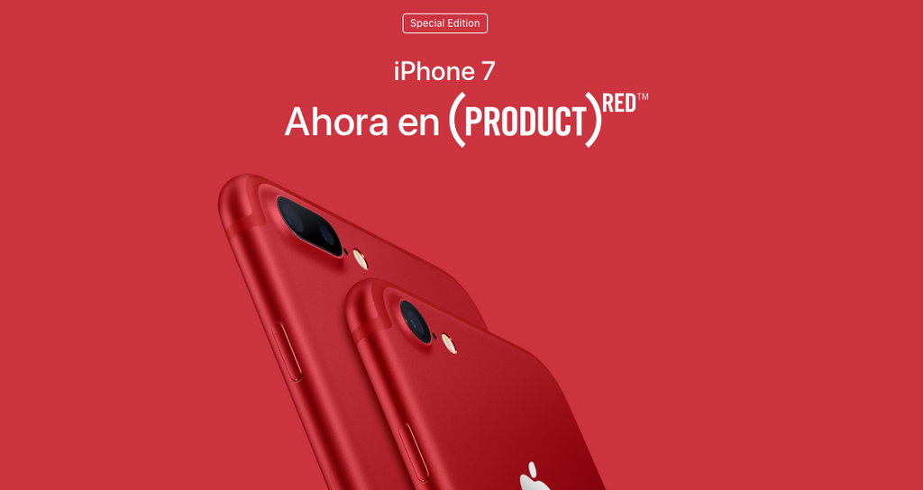IPHONE 7: AHORA EN (PRODUCT) RED