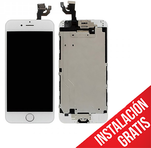 Pantalla iPhone 6S Plus Blanco - paratumac.com