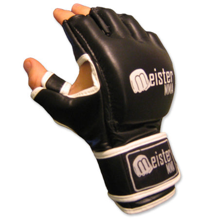 Cage MMA Gloves - Black