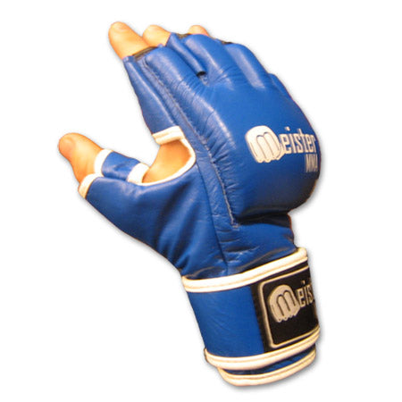 Cage MMA Gloves - Blue