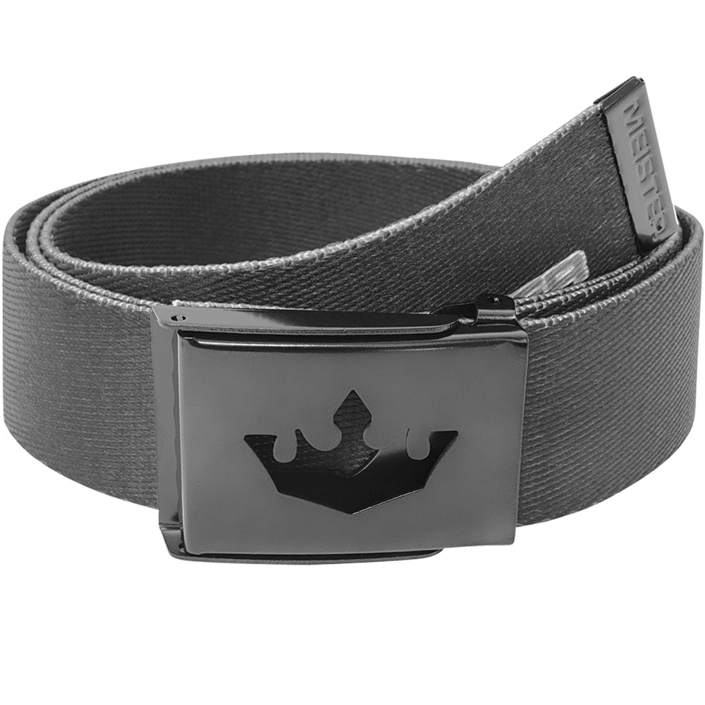 Meister Player Web Golf Belt - Black