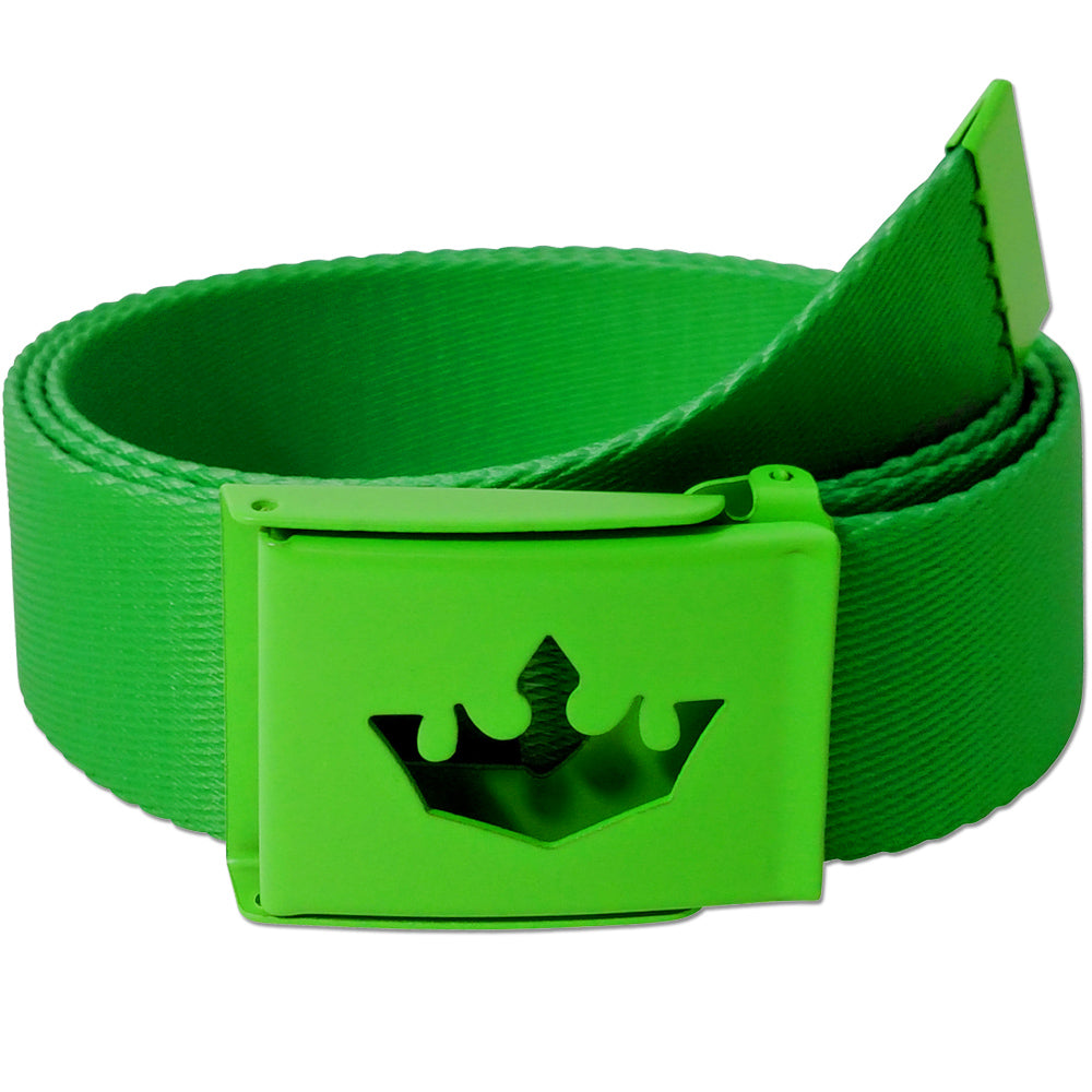 Meister Player Web Golf Belt - Player Green