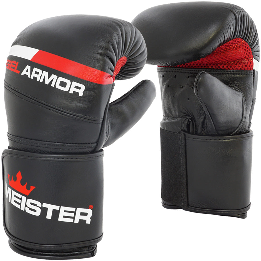 Meister Gel Armor Leather Bag Mitts