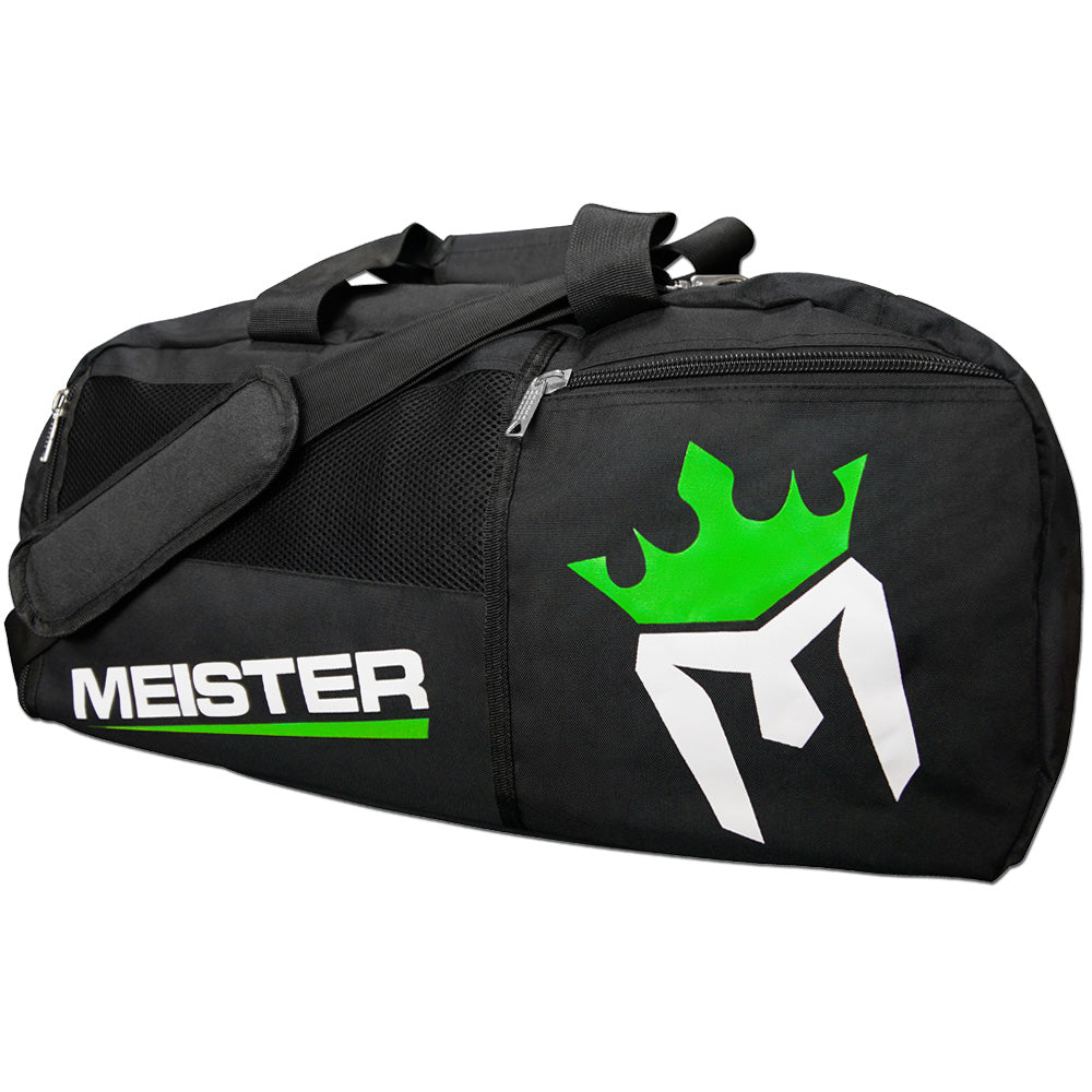 Meister Vented Convertible Backpack Duffel Bag - Black