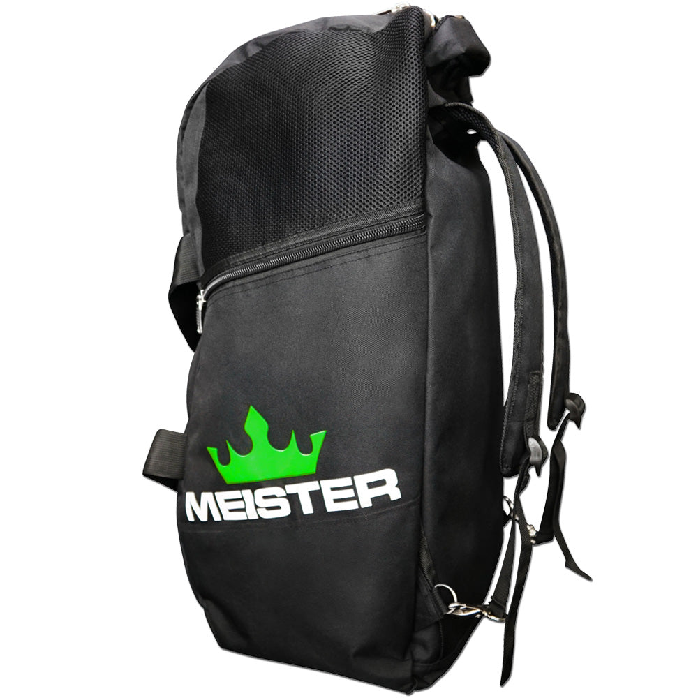 1a0bf260a549 Details about MEISTER CONVERTIBLE BACKPACK / GYM BAG - Black Sports MMA  Duffle CARRY-ALL LARGE