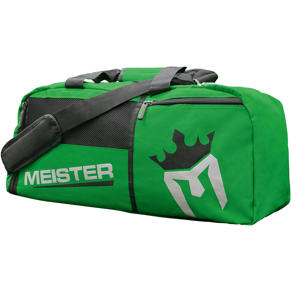 9c49b8765d4d MEISTER CONVERTIBLE BACKPACK   GYM BAG - Black Sports MMA Duffle ...