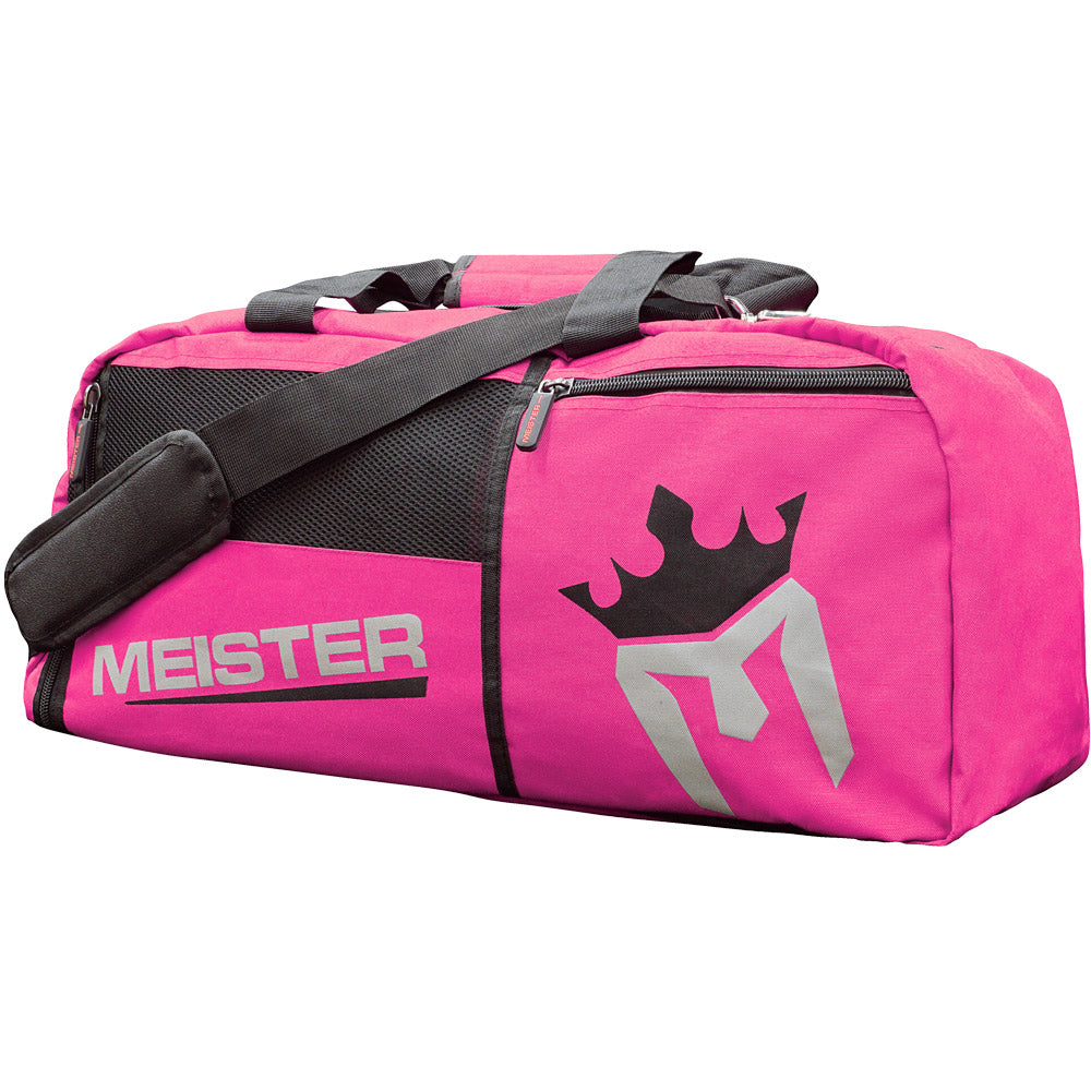 Meister Vented Convertible Backpack Duffel Bag - Pink